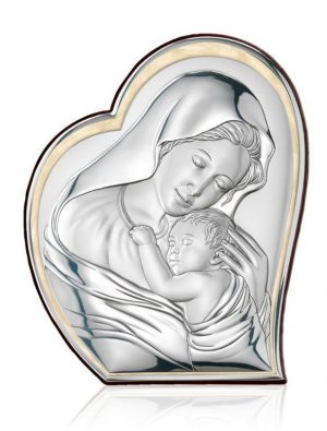 Ασημένια εικόνα Της Παναγίας Valenti 81051/1L