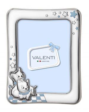 Ασημένια παιδική κορνίζα Valenti 73113/3L