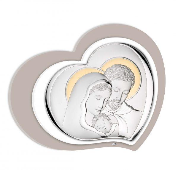 Ασημένια εικόνα Valenti Αγία Οικογένεια 81253/1LORO