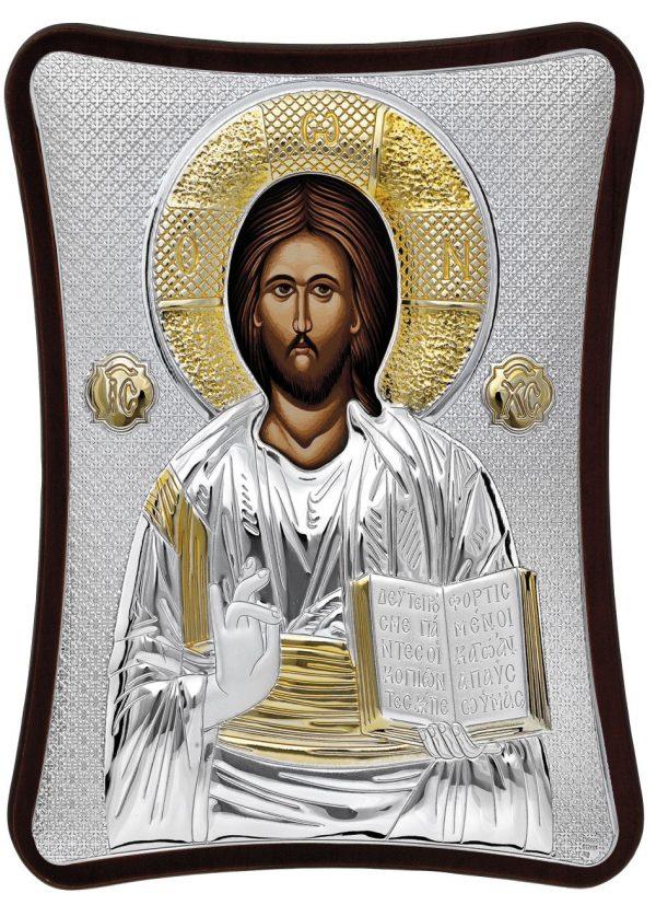 Ασημένια εικόνα Του Χριστού MA/E1407/1X