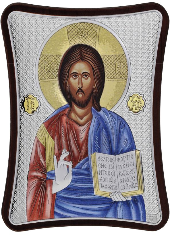 Ασημένια εικόνα Του Χριστού Prince Silvero MA/E1407/1XC