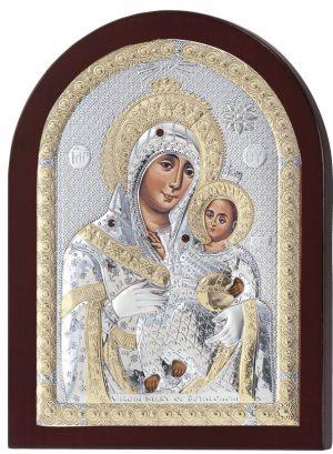 Ασημένια εικόνα Παναγία Βηθλεέμ Prince Silvero MA/E1109DX