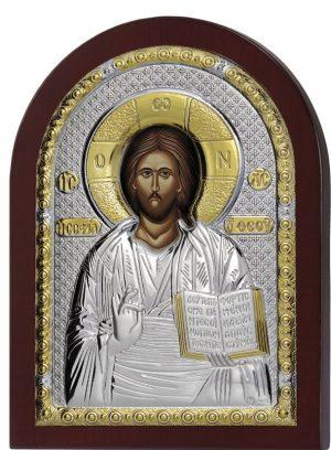 Ασημένια εικόνα Του Χριστού Prince Silvero MA/E1107DX