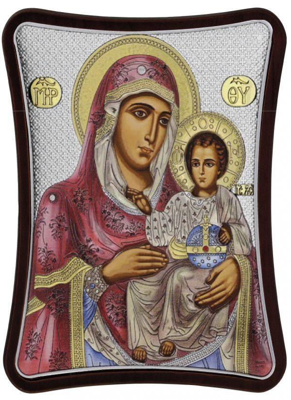 Ασημένια εικόνα Παναγία Ιεροσολυμίτισσα MA/E1402/1XC