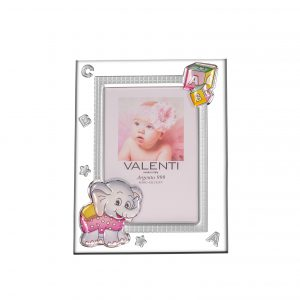 Ασημένια παιδική κορνίζα Valenti 9Χ13 73117/3LR