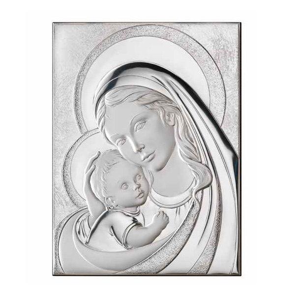 Ασημενια εικόνα της Παναγίας Thilia 444194