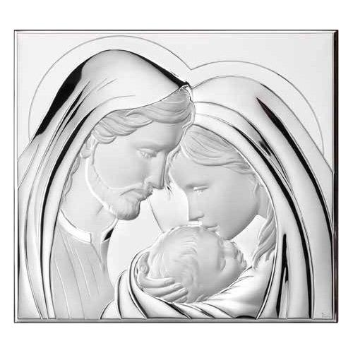 Ασημένια εικόνα η Αγία Οικογένεια Thilia 452154