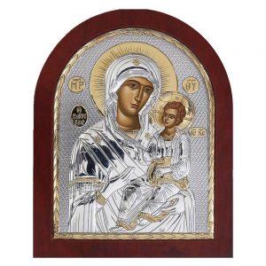 Ασημένια εικόνα Παναγία Γιάτρισσα ΜΕ40-005