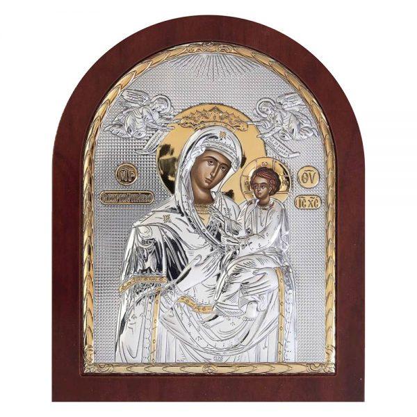 Ασημένια εικόνα Παναγία Γοργοεπήκοος ΜΕ40-003