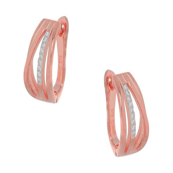 Ασημένιο σκουλαρίκι 925 JM/SC006/R
