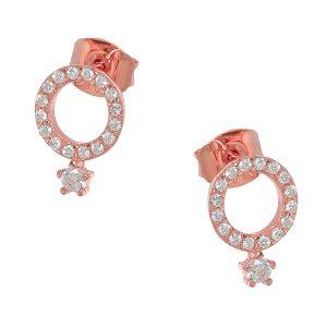 Ασημένια σκουλαρίκια 925 CQ/SC448R