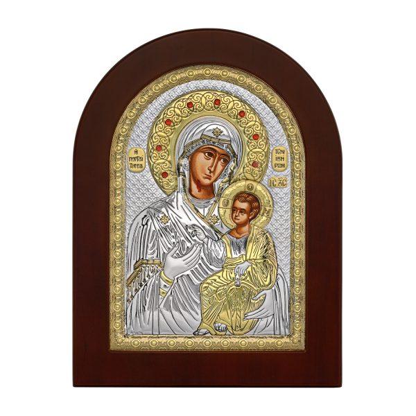 Ασημένια εικόνα Παναγία Πορταϊτισσα MA/E1134BX