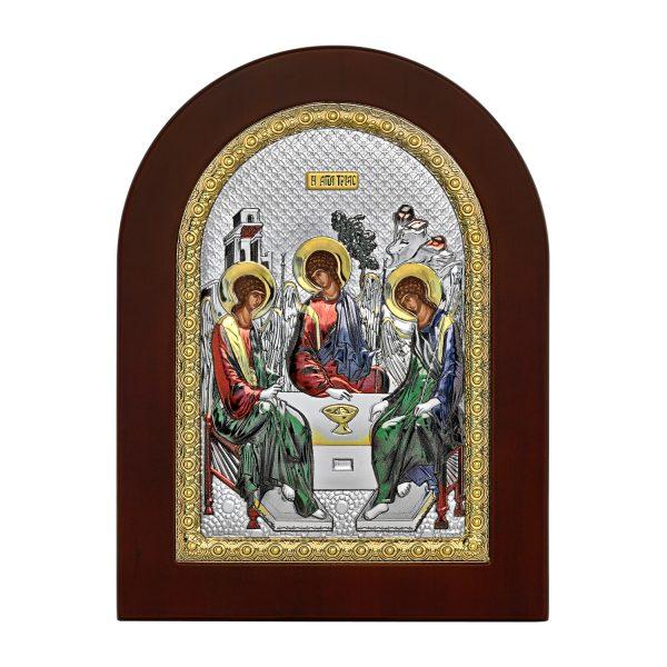Ασημένια εικόνα η Αγία τριάδα MA/E1136BXC