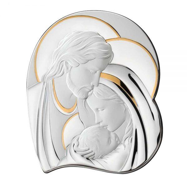 Ασημένια εικόνα η Αγία Οικογένεια Thilia 452640