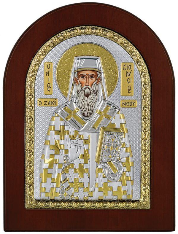 Ασημένια εικόνα Ο Άγιος Διονύσιος Prince Silvero MA/E1145BX
