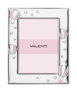 Ασημένια παιδική κορνίζα Valenti 73129/3R