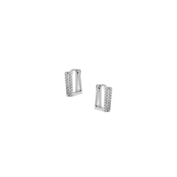 Ασημένιο σκουλαρίκι 925 9A-SC125-1