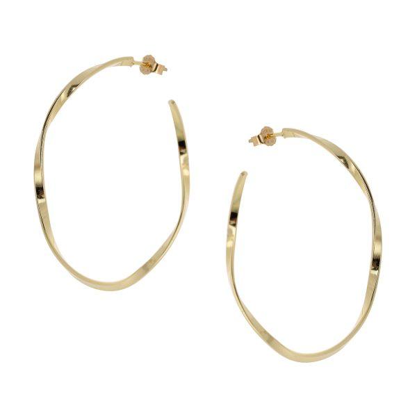 Ασημένιο σκουλαρίκι 925 9A-SC136-3