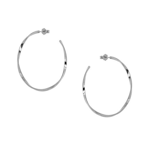 Ασημένιο σκουλαρίκι 925 9A-SC137-1
