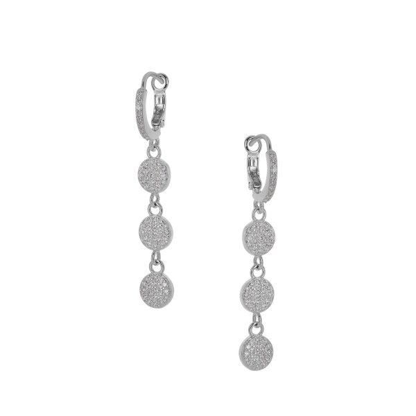 Ασημένιο σκουλαρίκι 925 9J-SC009-1