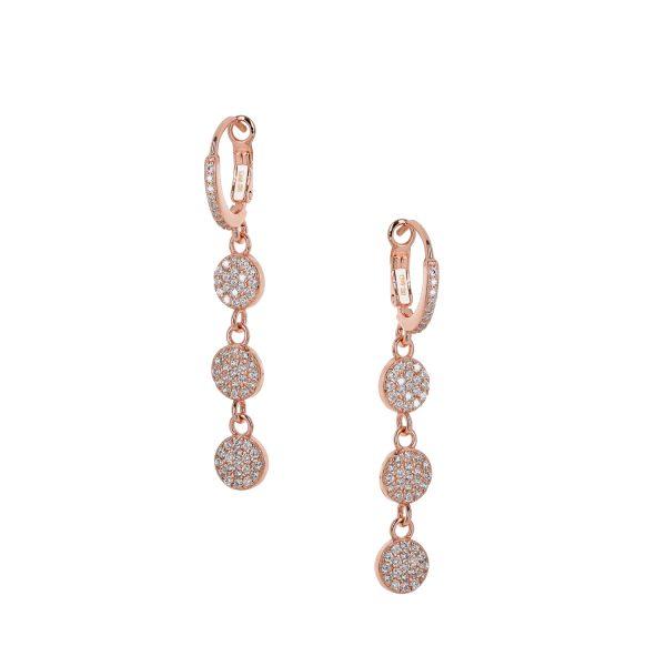 Ασημένιο σκουλαρίκι 925 9J-SC009-2