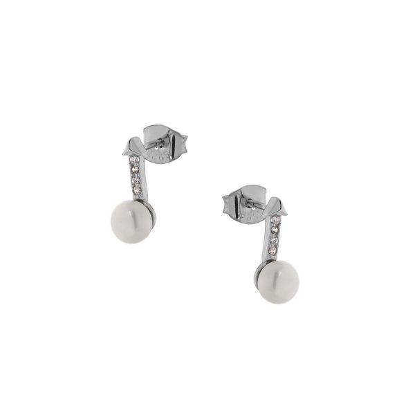 Ασημένιο σκουλαρίκι 925 9C-SC004-1