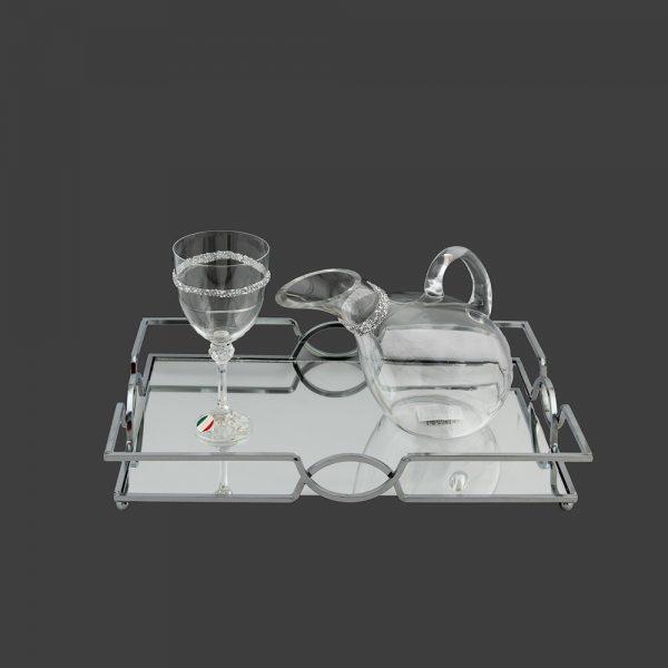 Σετ γάμου καράφα-ποτήρι CK2021690
