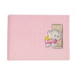 Παιδικό δερμάτινο άλμπουμ με ασήμι Valenti 15X20 73554/1R